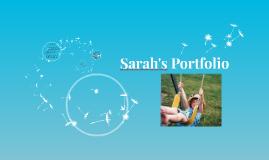 Sarah's Portfolio