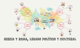 Copy of GRECIA Y ROMA , LEGADO POLÍTICO Y CULTURAL
