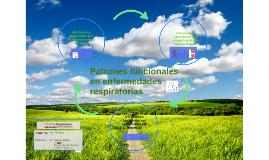 Patrones funcionales Respiratorios
