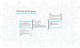 The Four R's Program