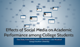 Effects of Social Media on Academic Performance among Colleg