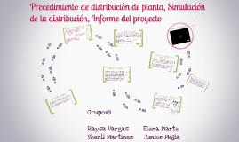 Copy of Procedimiento de distribución de planta, Simulación de la di