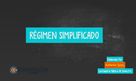 Copy of REGIMEN SIMPLIFICADO