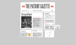 THE PATRIOT GAZETTE