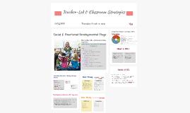 Teacher-Led & Classroom Strageties