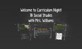 7B Social Studies