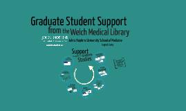 Graduate Student Support
