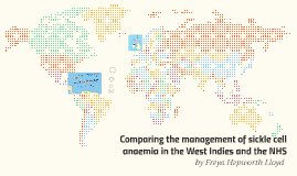 Comparing the management of sickle cell anaemia in the West