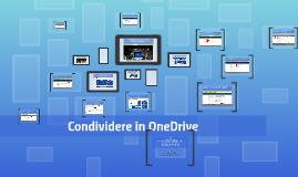 Condividere in OneDrive