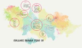 Collage Drama year 10