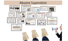abusive supervision Academy of management journal 2000, vol 43, no 2, 178-190  consequences of abusive supervision bennett j tepper  university of kentucky.