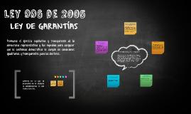 ley 996 de 2005