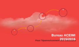Bureau ACEIMI 2015/2016
