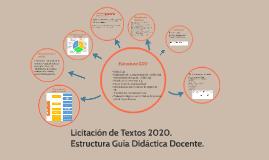 Licitación de Textos 2020.