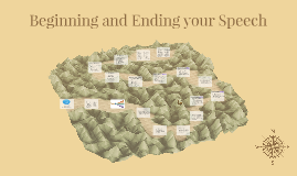CH 8: Beginning and Ending your Speech
