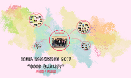 India Immersion 2017