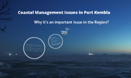 Port Kembla Coastal Management