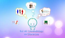 Copy of Rol de Fonoaudiologo