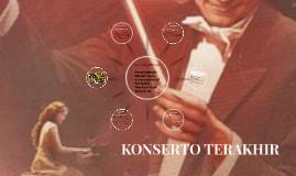 KONSERTO TERAKHIR