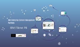 IBM Enterprise Content Management Portfolio
