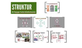 Struktur: At bygge lederskabsteams