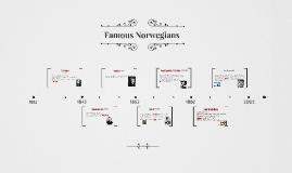 Famous Norwegians