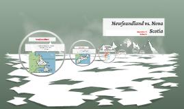 Copy of Newfoundland vs. Nova Scotia