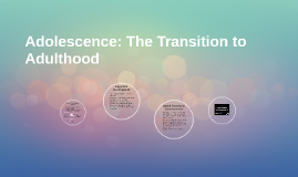 Adolescence: The Transition to Adulthood