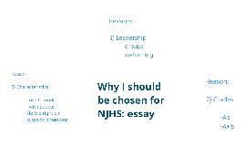 NJHS Essay.........Help?