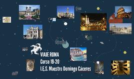 VIAJE ROMA