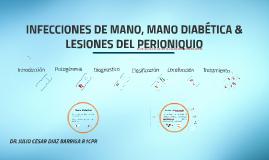 INFECCIONES DE MANO & LESIONES DEL PERIONIQUIO