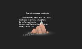 Termodinámica en Luminaria.