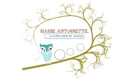 Prezi Maria Antonieta