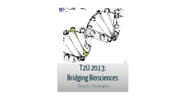 T2U 2013 - Search Strategies