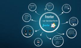 Vår lärplattform Fronter - presentation på Vreta förskola