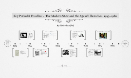 Key Period 8 Timeline -  The Modern State and the Age of Lib
