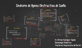 Sindrome de Apnea Obstructiva de Sueño