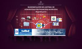 MODERNIZACIÓN DEL SISTEMA  DE ADMINISTRACIÓN FINANCIERA MUNICIPAL II PARTE