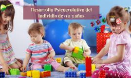 Desarrollo Psicoevolutivo del individio de 0 a 3 años