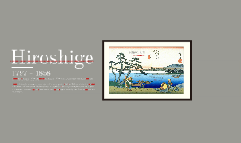"HIROSHIGE ""The Sixty-nine Stations of the Kiso Kaidō No.52 Ohta"""