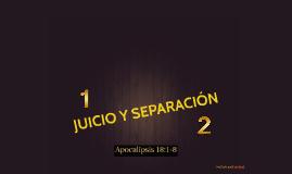 JUICIO Y SEPARACIÓN