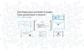 Estrategias para prevenir el plagio