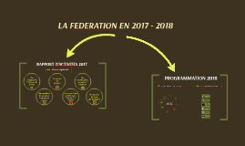 PROGRAMMATION 2018
