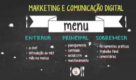 SENAC - Marketing e Comunicação Digital