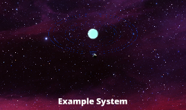 Unionline Test Background / Planetary System