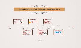 MEMORIAL E PLANO DE TRABALHO