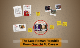 The Late Roman Republic From Gracchi To Caesar