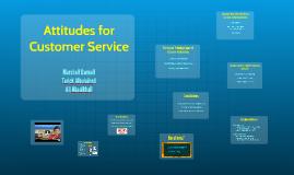 Attitudes for Customer Service