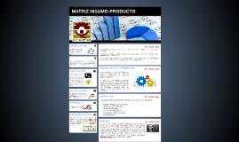 Matriz insumo-producto