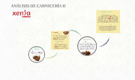 ANÁLISIS DE CARNICERÍA II